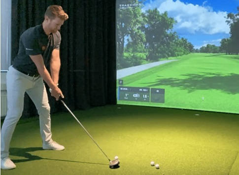 Indoor golf 2020